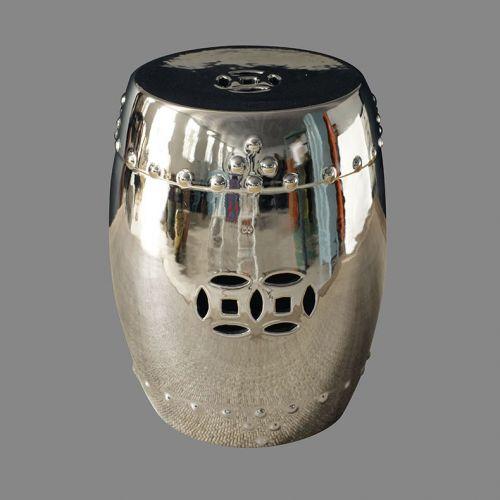Табурет керамический  TJC10, Серебро