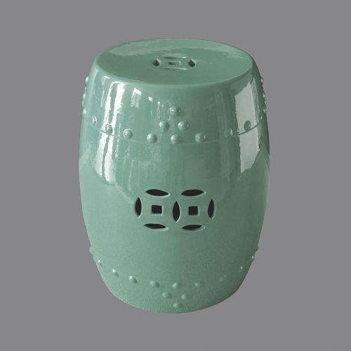 Табурет керамический  TJC10, Зеленый