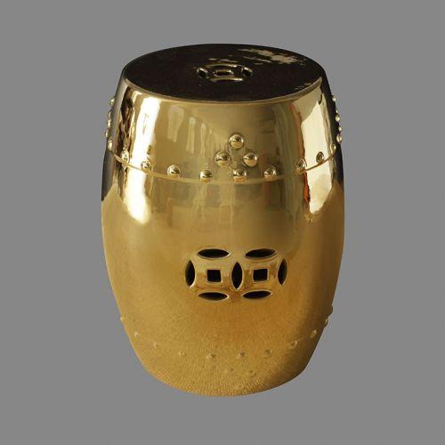 Табурет керамический  TJC10, Золото