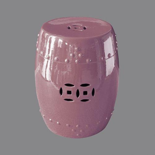 Табурет керамический  TJC10, Розовый