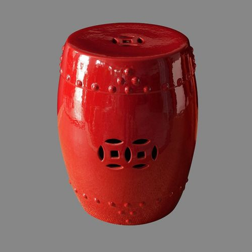 Табурет керамический  TJC10, Красный