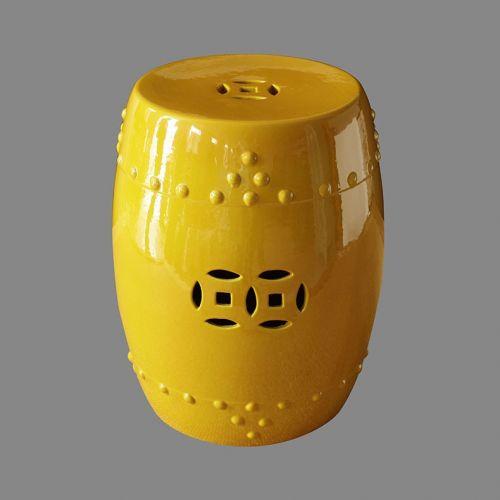 Табурет керамический  TJC10, Желтый