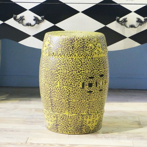 Табурет керамический  TCD954, Желтый