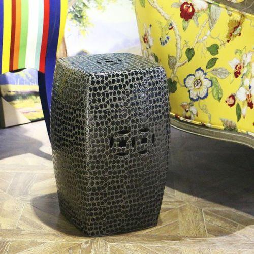 Табурет керамический  TCD954, Черный