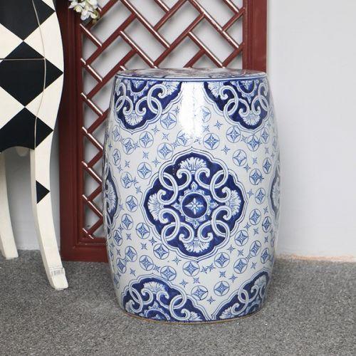 Табурет керамический  QHD012, Узор