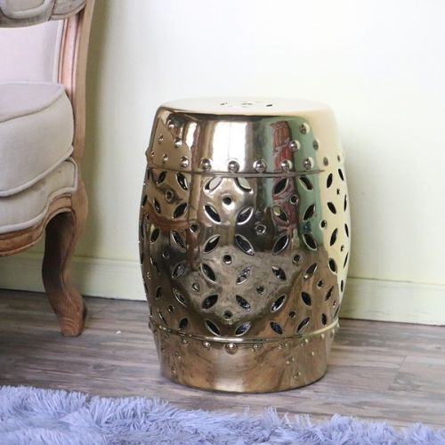 Керамический табурет JYD002, Золото