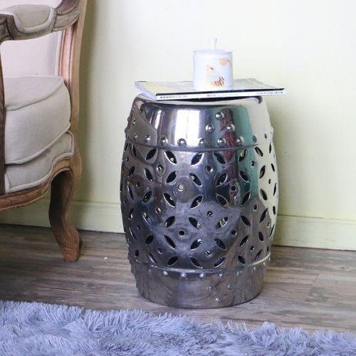 Керамический табурет JYD002, Серебро