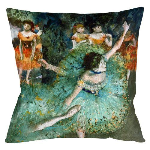 Арт-подушка «Балерины в зелёном»