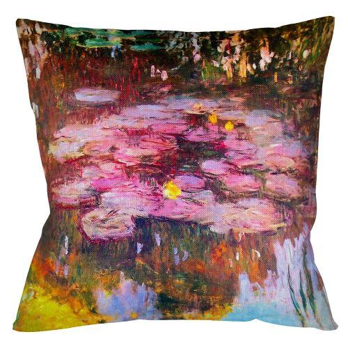 Арт-подушка «Водяные лилии, 1917»