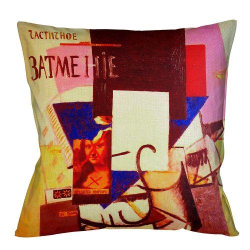 Арт-подушка «Композиция с Джокондой»
