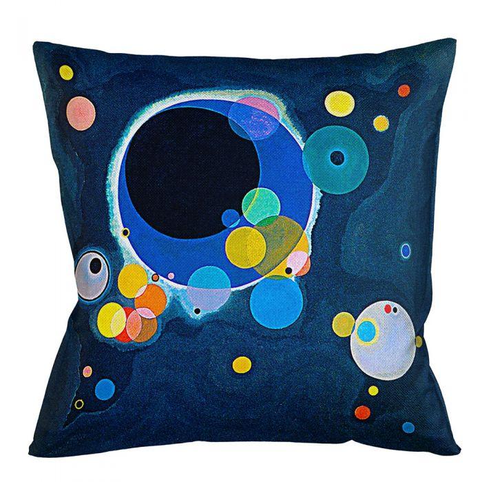 Арт-подушка «Несколько кругов»