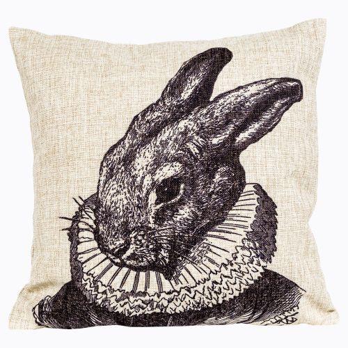 Интерьерная подушка «Старинная гравюра», версия 21