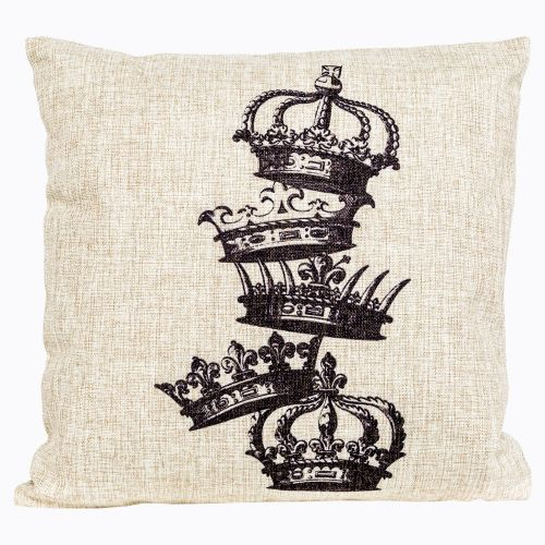 Интерьерная подушка «Старинная гравюра», версия 6