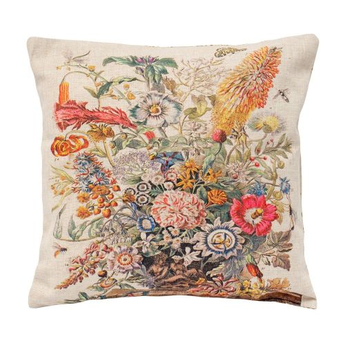 Декоративная подушка «12 месяцев цветения», версия Август