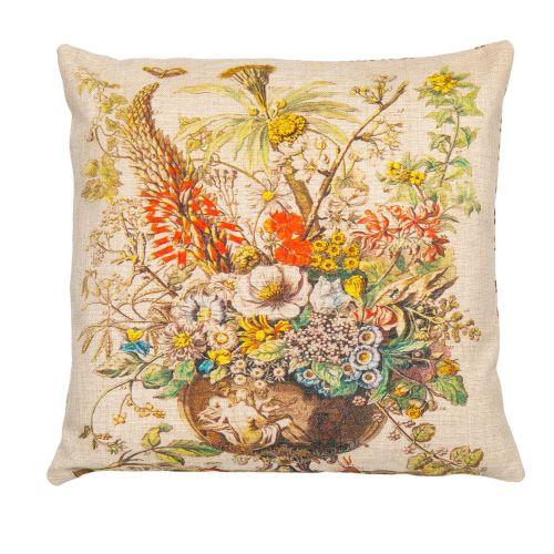 Декоративная подушка «12 месяцев цветения», версия Декабрь