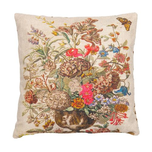 Декоративная подушка «12 месяцев цветения», версия Июль