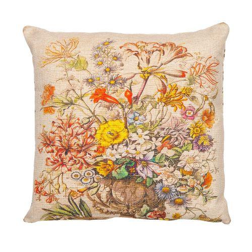 Декоративная подушка «12 месяцев цветения», версия Октябрь