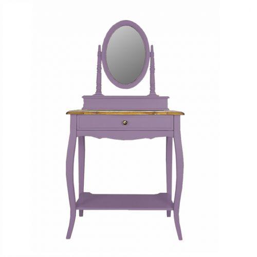 Макияжный столик с овальным зеркалом ST9321L
