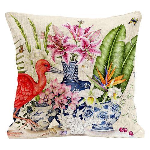 Декоративная подушка «Кораллововажный»