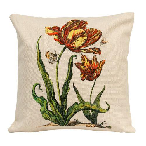Интерьерная подушка «Ботаническое барокко», версия 4