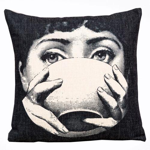 Арт-подушка «Лина», версия «Tea Time»