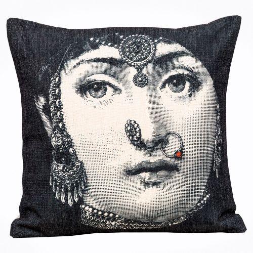 Арт-подушка «Лина», версия «Индия»