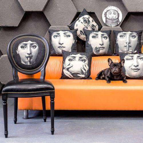 Арт-подушка «Лина», версия «Моно Лина»