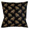 Интерьерная подушка «Группа львов в черном»