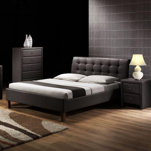 Кровать Halmar SAMARA (темно-коричневый)