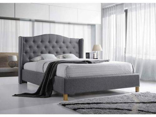 Кровать Signal ASPEN (серый) 140/200