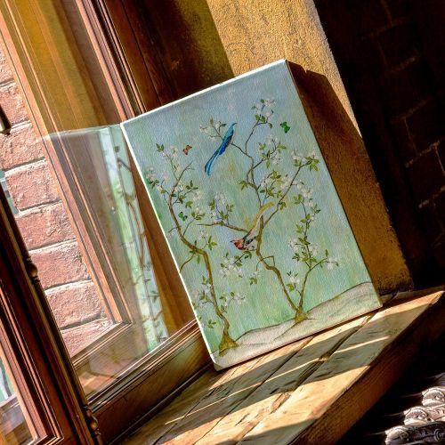 Картина «Шинуазри», версия 4 (холст, галерейная натяжка)