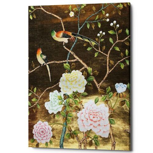 Картина «Шинуазри», версия 8 (холст, галерейная натяжка)