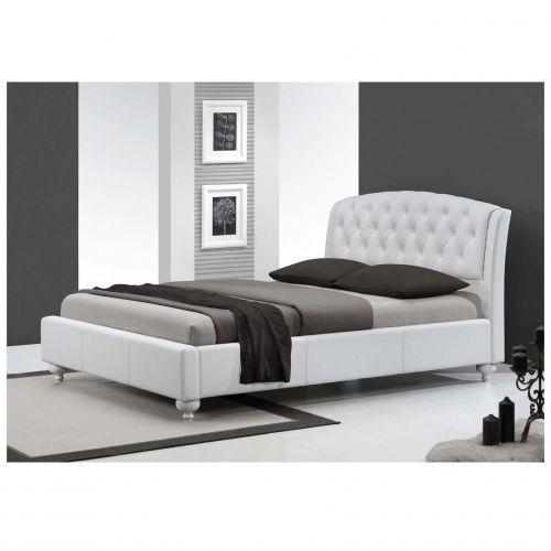 Кровать Halmar SOFIA (белый) 160/200