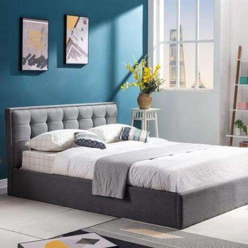 Кровать Halmar PADVA (серый) 160/200