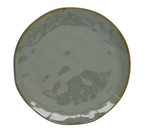 Тарелка закусочная (серый) Interiors без инд.упаковки