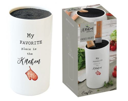 Подставка для ножей Kitchen Elements в подарочной упаковке