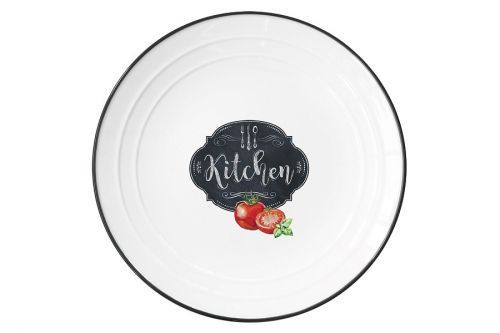 Тарелка Кухня в стиле Ретро, малая, без инд.упаковки