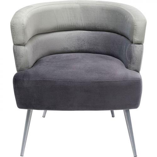 Кресло Sandwich серое