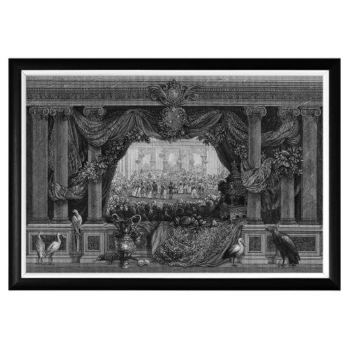 Арт-постер «Дворец Тюильри»