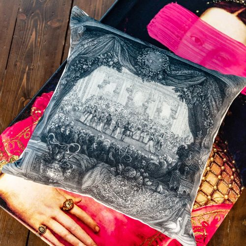 Арт-подушка «Дворец Тюильри»