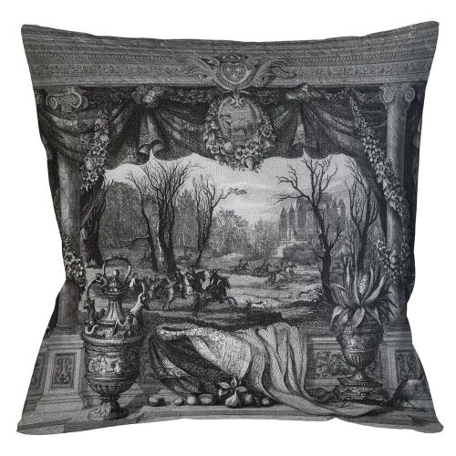 Арт-подушка «Замок Мадрид»