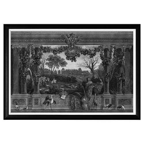 Арт-постер «Дворец Монсо»