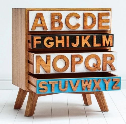 Комод Alphabeto ELC-03
