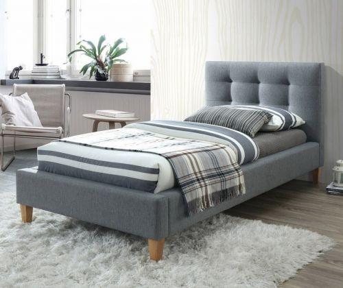 Кровать Signal TEXAS (серый/дуб) 90/200