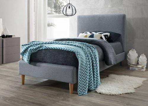 Кровать Signal ACOMA (серый/дуб) 90/200