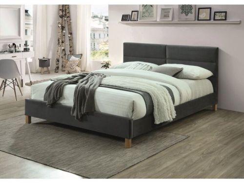 Кровать Signal SIERRA (серый/дуб) 160/200