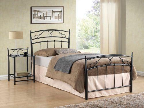 Кровать Signal SIENA (черный) 90/200
