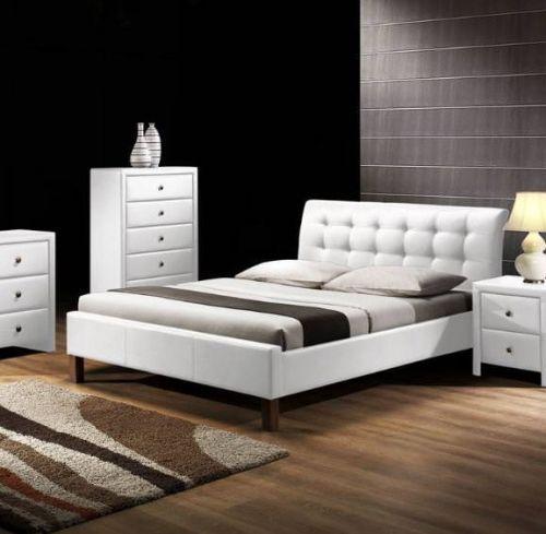 Кровать Halmar SAMARA (белый) 160/200