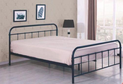 Кровать Halmar LINDA (черный) 120/200