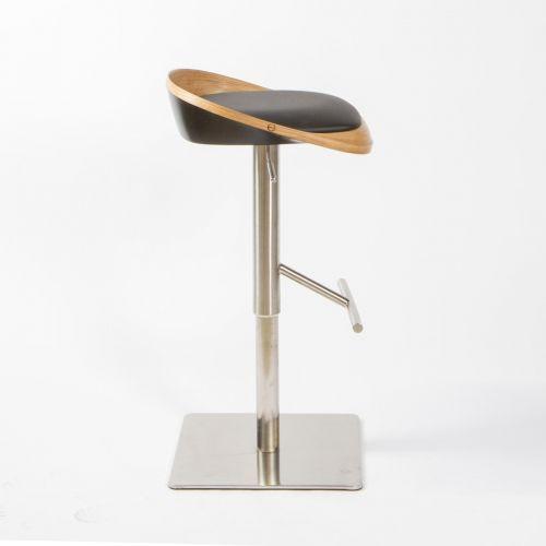 Барный стул LOU дуб сатин
